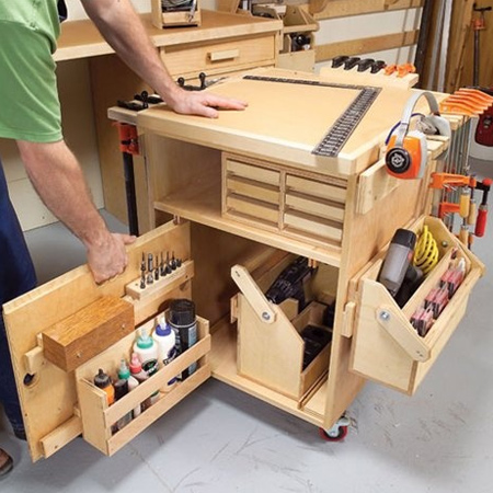 No matter how many tools you have in your workshop, organisation is the key to working faster and smarter. A well-organised toolbox or workshop allows you to easily find what you need for every project.