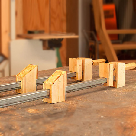 HOME DZINE Home DIY | Make your own Bar Clamps