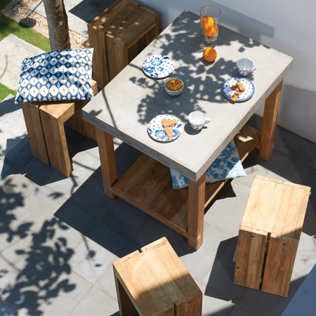 Cast Concrete Is Fast Becoming A DIY Alternative For Creating Modern Outdoor  Furniture That Is Great Looking And Easy To Care For.