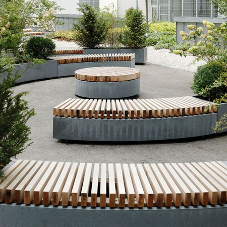 Home Dzine Garden Ideas Use Concrete For Durable Outdoor Furniture