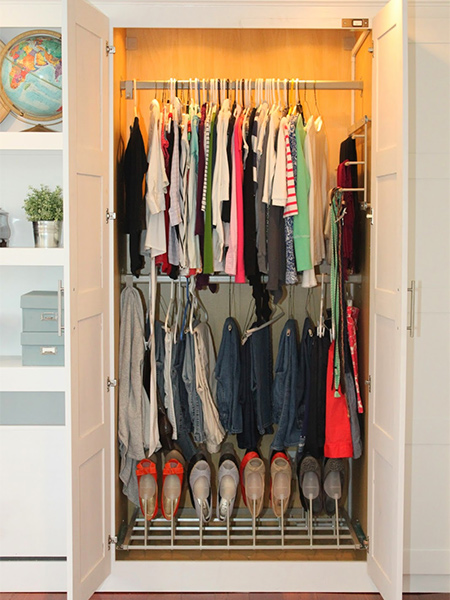 Add value and storage with custom closets
