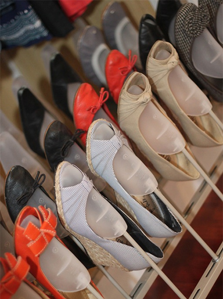 closet ideas shoe rack