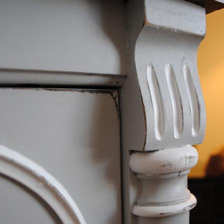 HOME DZINE | Transform dark wood furniture with Chalked paint