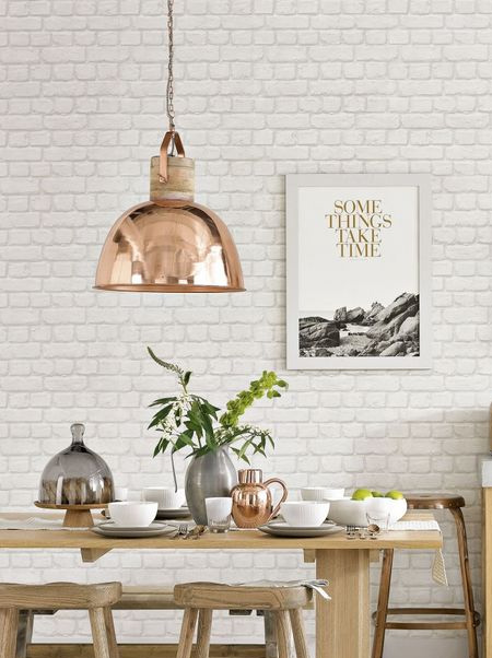Create your own copper pendant lights with rustoleum copper metallics
