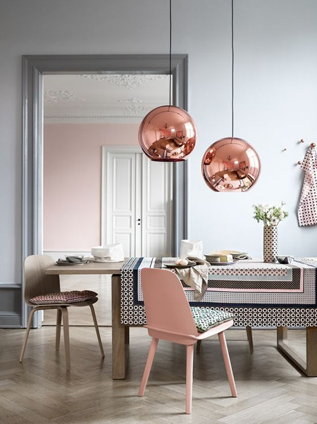 Create your own copper pendant lights with rustoleum copper metallic
