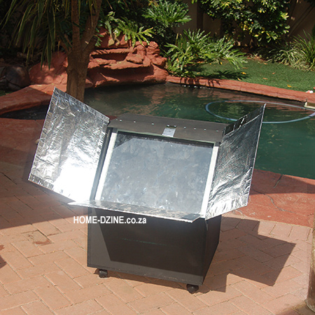 how to make your own basic DIY solar oven