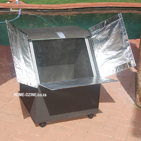 make your own basic DIY solar oven