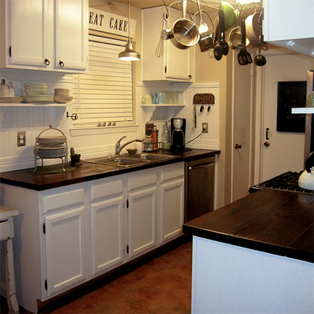 Home Dzine Kitchen Replace Formica With Solid Wood Countertops