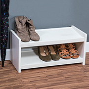 Quick and easy shoe organiser