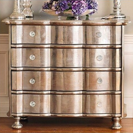 home dzine craft ideas wonderful ways to use metallic. Black Bedroom Furniture Sets. Home Design Ideas