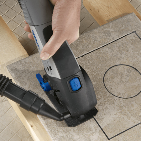 As one of the most dangerous and scary tools to use few women enjoy using an angle grinder. Now you can use a Dremel DSM20
