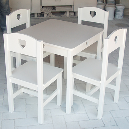 diy make childrens table and chairs furniture