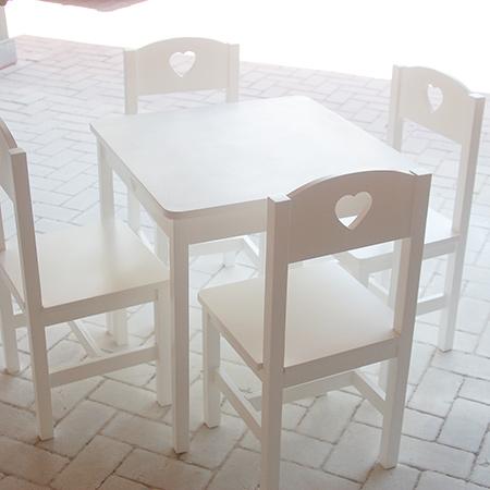 Sensational Home Dzine Home Diy Kiddies Table And Chairs Beutiful Home Inspiration Truamahrainfo