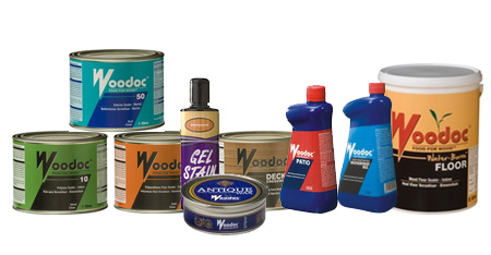 woodoc range of interior and exterior sealers