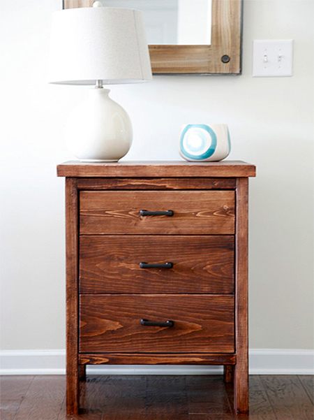 free plans diy chest of drawers using pine