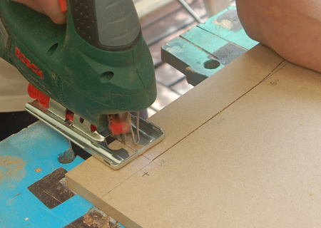 In many projects we do here on Home-Dzine, a project calls for pieces cut to a specific size