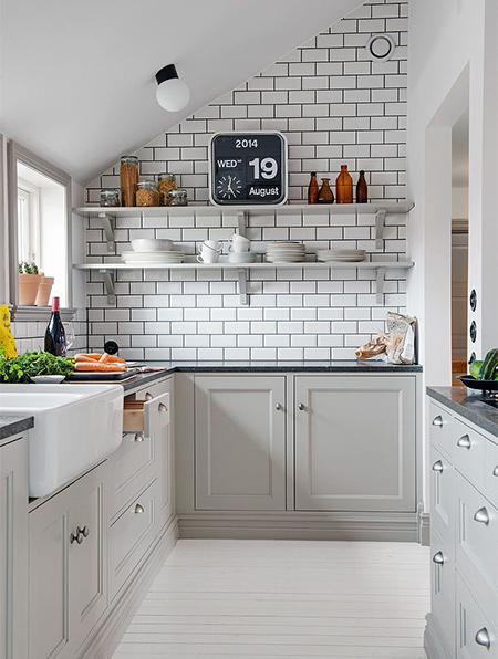 ut you don't need to live with a small kitchen when there are so many designer tricks that you can put to use