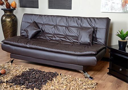 3-seater sofa, and easily converts into a double bed when needed