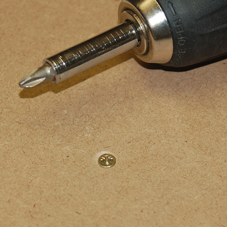 countersink screws before covering up with alcolin wood filler or screw caps
