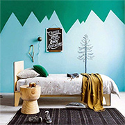 Colourful children's bedrooms