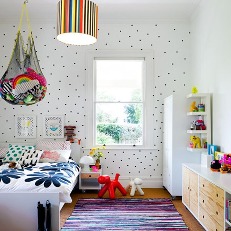 Colourful Child Or Kids Bedroom