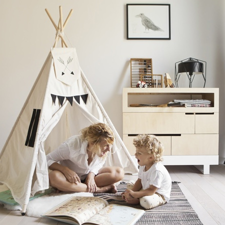 Kutikai design and manufacture a range of furniture and accessories for children that is inspired by children