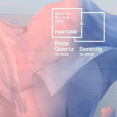 Pantone chooses 2 colours for 2016