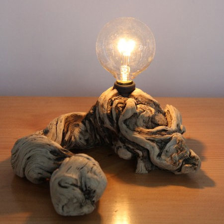 Home dzine craft ideas unique ways to craft wood lamps for Crafting wooden lamps
