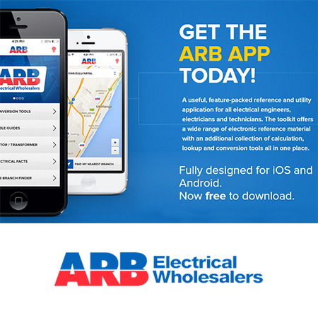 As Southern Africa's largest independent BEE empowered electrical wholesaler, ARB Electrical Wholesalers provide a wide range of internationally recognised and SABS approved products.