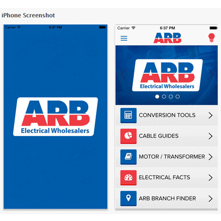 This useful, feature-packed Toolkit from ARB Electrical Wholesalers is the ideal utility application for electrical engineers, electricians and technicians and offers a wide range of electronic reference material.