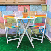 Quick Project: Colourful patio furniture