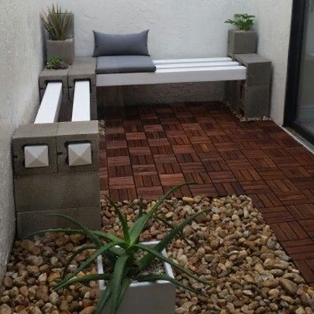 Practical uses for breeze blocks