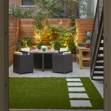 For Those Who Donu0027t Have The Luxury Of A Large Garden, Or Only A Concrete  Courtyard, There Are Plenty Of Ways To Transform These Areas Into Outdoor  Spaces ...