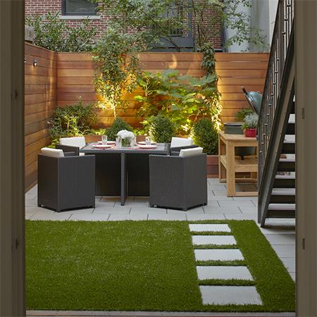 Home dzine garden ideas ideas for a courtyard garden for Shady courtyard garden design