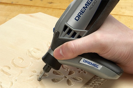 Have fun engraving on a wide variety of materials, from timber and board, plastic and PVC. All the Dremel MultiTool models come with an engraving bit that allows you to get started immediately on your projects