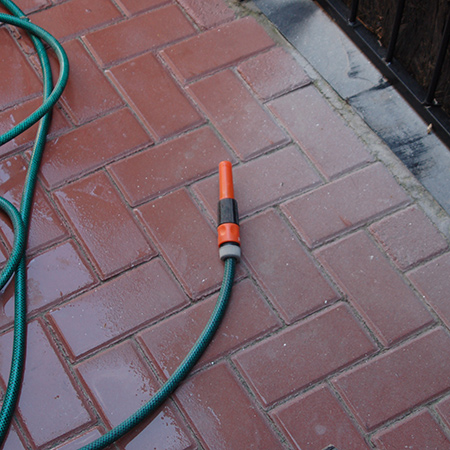 Prominent Paints paving paint adds curb appeal