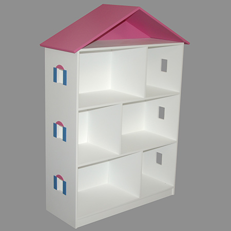 This DIY dollhouse bookcase is reasonably easy to make if you have some DIY savvy, and you will find everything you need for this project at your local Builders Warehouse.