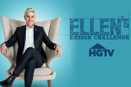 If you can't wait the watch the 2nd season of Ellen's Design Challenge, here's a sit where you can live stream the entire season. It's also a great opportunity to see designers in action using the latest power tools and techniques.