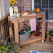 Make a braai cart or prep station