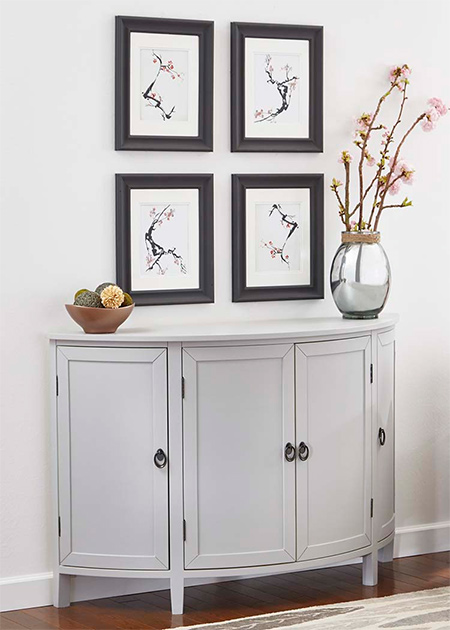 Home Dzine Paint A Cabinet With Rust Oleum Chalked Paint