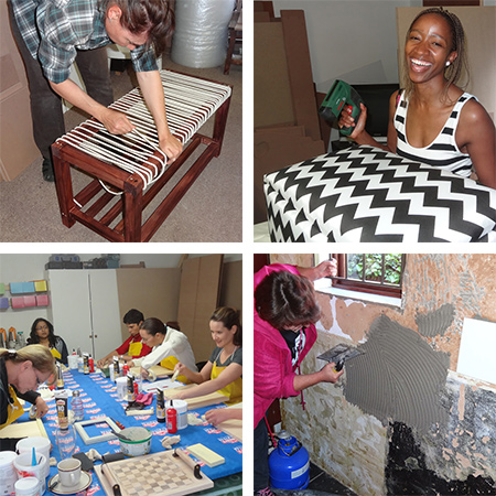 Sign up for a www.DIY-Divas.co.za workshop at a venue close to you.