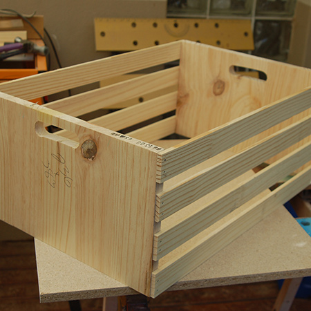 We have featured several way to use - and make - crates for storage for a home with the easy rolling bathroom storage and the crate storage unit for a bathroom or bedroom.