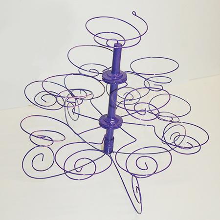 HOME DZINE Craft Ideas | Make a wire cupcake stand