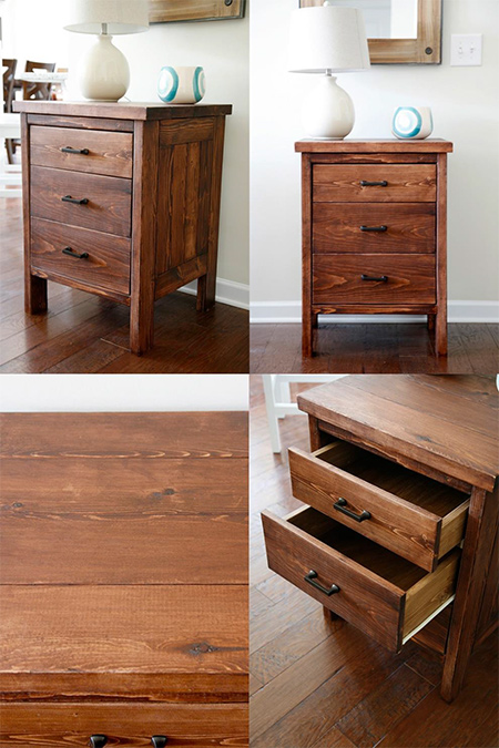 free plans for diy chest of drawers using pine found at builders warehouse