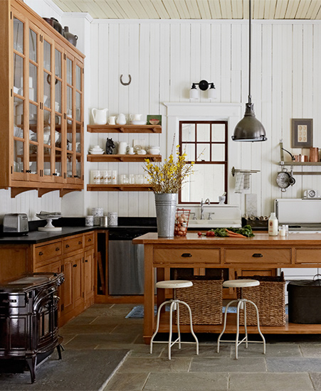 Home dzine kitchen kitchens that improve with age for Improve kitchen cabinets