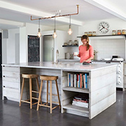 Kitchen reno with Scandinavian style