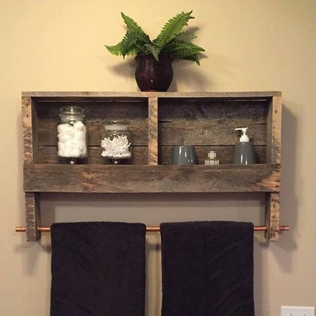 There are so many ways to use reclaimed wood for accents and projects. Whether you use reclaimed pallets or other source of reclaimed wood, it's affordable and great for projects for any style of home.