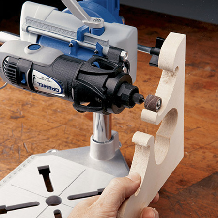 the Dremel Workstation gives you the flexibility to tackle detailed crafts and hobbies or special projects