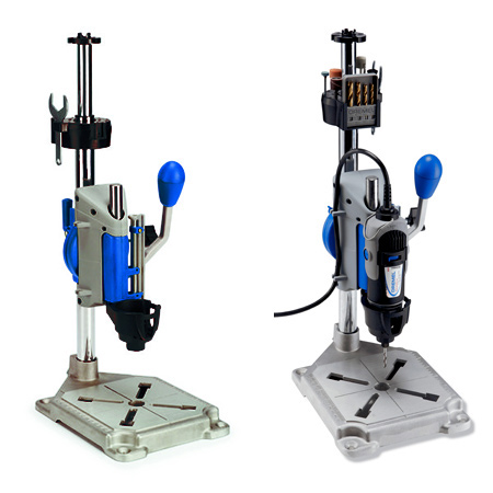 Easily turn any Dremel rotary multitool into a drill press
