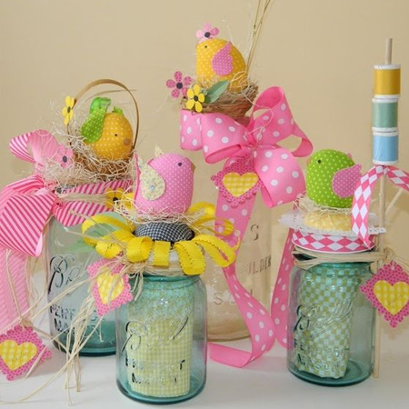 creative fun mason ball jar easter craft ideas